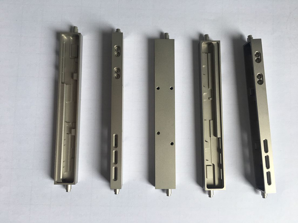 Optical communication stainless steel housing parts